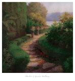 Haibin - Garden Walkway Plakát