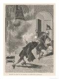 Georg Wilhelm Richmann Giclee Print by Melville Gilbert