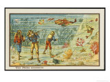 Fishing from the Sea-Bed Giclee Print by Jean Marc Cote