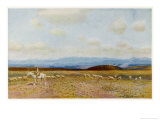 The Roof of Australia, Kosciusko from the Bobundara Road Giclee Print by Percy F.s. Spence