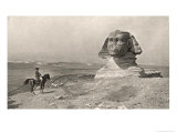 "Egyptian Campaign ""L'Oedipe"", Napoleon Face to Face with the Sphinx Giclée-tryk af J.i. Gerome"