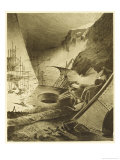 The War of the Worlds, Dead Martians and Their Machines Giclee Print by Henrique Alvim Corrêa