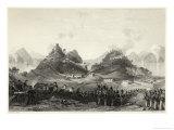 British Attack Chuen-Pi Near Canton Giclee Print by Henry Adlard