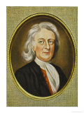 Sir Isaac Newton Mathematician Physicist Occultist Giclee Print by Henry Bone