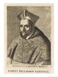 Saint Roberto Bellarmino Italian Prelate and Controversionalist Professor of Theology Giclee Print by Esme De Boulonois