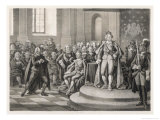 Gustav III Imposes Laws for the Security of the Nation Giclee Print by C.a. Dahlstrom