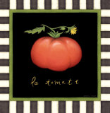 La Tomate Print by Beth Logan