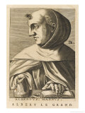 Albertus Magnus German Scholar Bishop of Ratisbon Giclee Print by Nicolas de Larmessin
