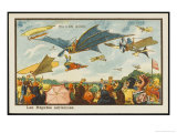 An Aerial Regatta Giclee Print by Jean Marc Cote
