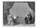 Charles I King of England with Henrietta Maria and Child Giclee Print by John Henry Frederick Bacon