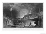 Lymington Ironworks Tyneside Giclee Print by Thomas Allom
