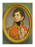King George IV of England Reigned 1820-1830 Giclee Print by Henry Bone