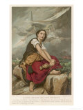 Joan of Arc Maid of Orleans French National Heroine Reproduction procédé giclée par Benouville