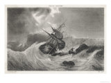 The Wreck of Colbert&#39;s Ship Cherbourg Giclee Print by Ales 