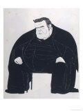 Hilaire Belloc English Writer Giclee Print by Powys Evans