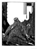 The Murders in the Rue Morgue Gicleetryck av Harry Clarke