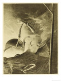 The War of the Worlds: Martian Handling Machine at Work Giclee Print by Henrique Alvim Corrêa