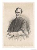 Giacomo Antonelli Italian Prelate and Papal Administrator Giclee Print by A. Collette
