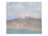 Mount Pelee Martinique West Indies Giclee Print by A.s. Forrest