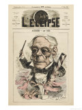 Daniel Francois Esprit Auber French Composer Giclee Print by André Gill