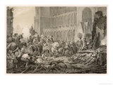 The Imperial Forces Under Tilly Take Magdeburg after a Siege Giclee Print by C.a. Dahlstrom