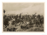 English Victory at Agincourt Giclee Print by Henri Dupray