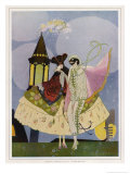 Venice, Carnival Characters Giclee Print by Umberto Brunelleschi
