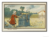 Intensive Poultry-Farming Giclee Print by Jean Marc Cote