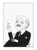 Max Beerbohm Writer and Artist Giclee Print by Powys Evans
