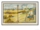 Automated Agriculture Giclee Print by Jean Marc Cote