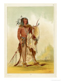 Wun-Nes-Tou Medicine-Man of the Blackfeet People Giclee Print by George Catlin