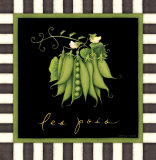 Les Pois Prints by Beth Logan