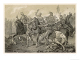 Christian IV of Denmark is Decisively Beaten by the Imperial Army Under Tilly Giclee Print by C.a. Dahlstrom