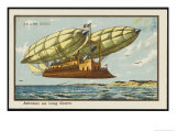 Long-Haul Airship Giclee Print by Jean Marc Cote