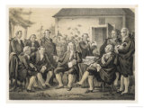 Carl Von Linne Ka Linnaeus Swedish Naturalist Visited by Gustav III 1790 Giclee Print by C.a. Dahlstrom