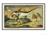 Shark-Hunt Giclee Print by Jean Marc Cote
