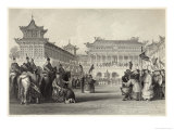 Emperor Tao-Kuang Reviews His Armed Forces in Peking Giclee Print by J.b. Allen