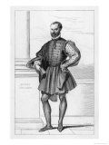 Niccolo Machiavelli Italian Political Philosopher Giclee Print by Deveria 