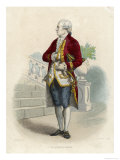 Pierre-Augustin Caron De Beaumarchais, French Clockmaker and Financier for the American Colonies Giclee Print by Boilly