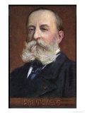 Camille Saint-Saens French Musician Giclee Print by  Eichhorn