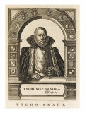 Tycho Brahe Danish Astronomer Giclee Print by Nicolas de Larmessin