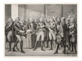Gustav III Restores Royal Power: His First Move is to Arrest the Entire Council as a Body Giclee Print by C.a. Dahlstrom