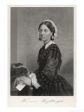 Florence Nightingale Nurse Hospital Reformer Philanthropist Giclee Print by Alonzo Chappel