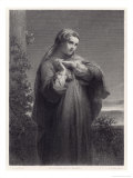 Mother of Augustine Saint Giclee Print by Ed. Dubufe