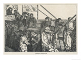 Steerage Class Passengers on an Emigrant Ship Bound for America Giclee Print by Arthur Boyd