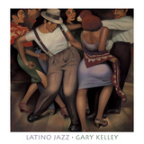 Latino Jazz Posters by Gary Kelley