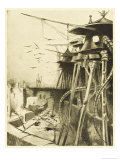The War of the Worlds, The Fighting-Machines, Harmless Without Their Martian Crews Giclee Print by Henrique Alvim Corrêa