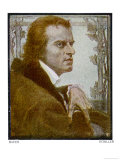 Johann Christoph Friedrich German Writer Giclee Print by Betsy Bauer