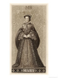 Mary Tudor Queen of England Daughter of Henry VIII and Catherine of Aragon Giclee Print by Thomas Brown