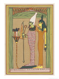 Osiris Isis and the Children of Horus Giclee Print by E.a. Wallis Budge